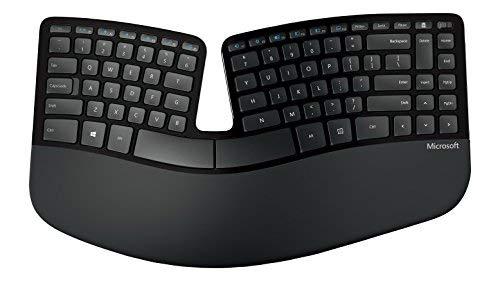 マイクロソフトのエルゴノミックキーボードSculpt Ergonomic Keyboard(US配列)